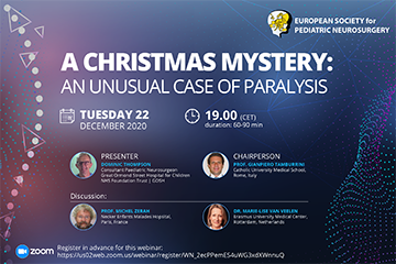 A CHRISTMAS MYSTERY:  An Unusual Case of Paralysis